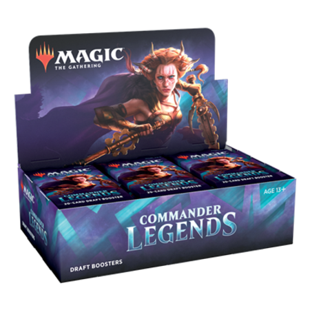 Wizards of the Coast MTG Commander Legends Boosterbox