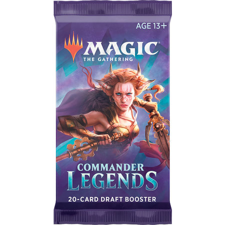 Wizards of the Coast MTG Commander Legends Booster