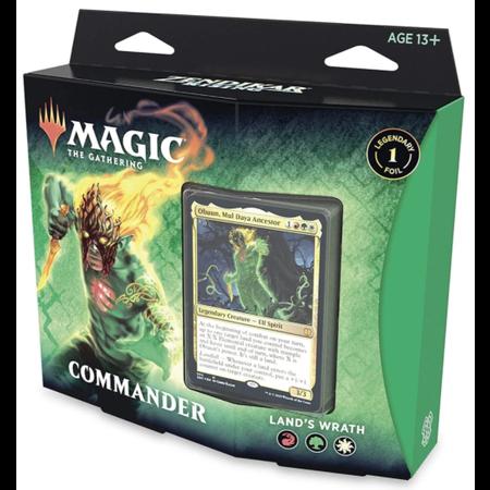Wizards of the Coast MTG ZNR Zendikar Rising Commander: Land's Wrath