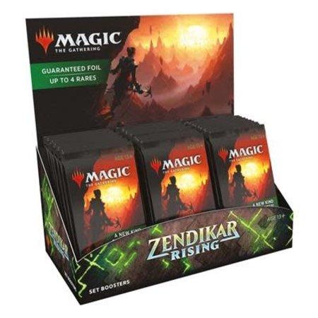 Wizards of the Coast MTG ZNR Zendikar Rising Set Boosterbox