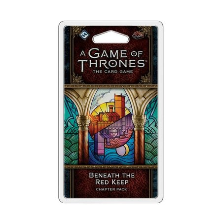 Fantasy Flight Game of Thrones 2nd LCG: Beneath The Red Keep Chapter Pack (Eng)