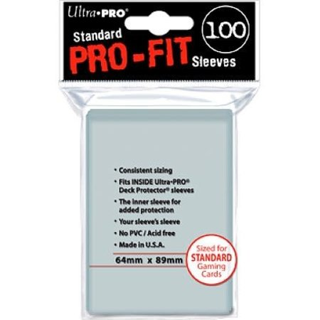 Ultra-Pro Sleeves Pro-Fit Clear