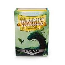 Dragon Shield Matte emerald (100)