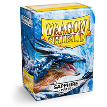 Dragon Shield Sleeves: Sapphire Matte