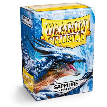Arcane Tinman Dragon Shield Sleeves: Sapphire Matte