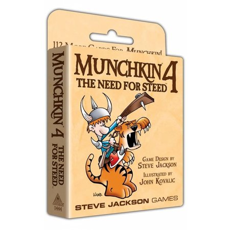 Steve Jackson Games Munchkin 4: The Need for Steed