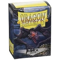 Dragon Shield Sleeves: Black Matte
