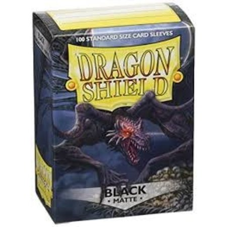 Arcane Tinman Dragon Shield Sleeves: Black Matte