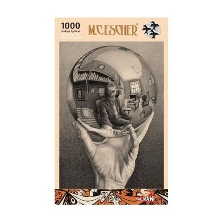 Puzzelman Escher: Hand met Bol (1000)