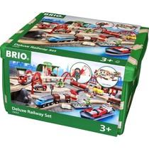 Brio - Treinset De Luxe