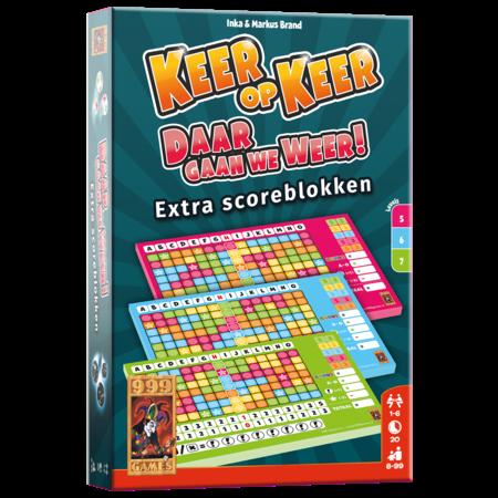 999-Games Keer op keer:  Daar gaan we weer! Extra scoreblokken (level 5,6,7)