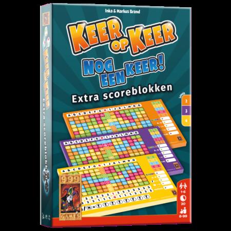 999-Games Keer op keer:  Nog een Keer! Extra scoreblokken