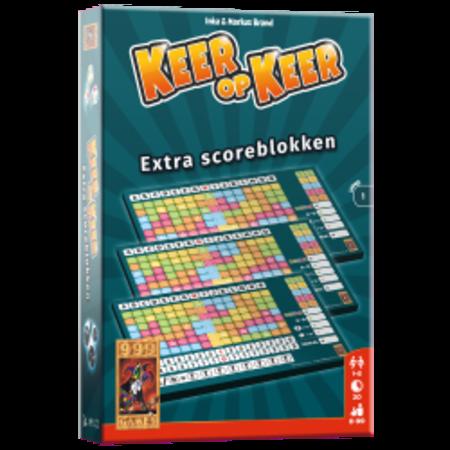 999-Games Keer op keer: Extra scoreblokken