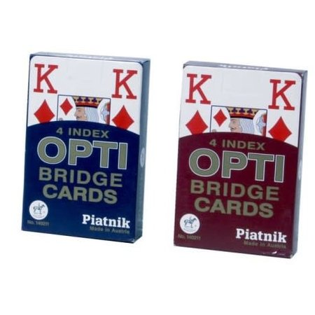 Piatnik kaarten Optie Bridge grote symbolen