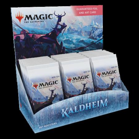 Wizards of the Coast MTG KMH Kaldheim Set Boosterbox