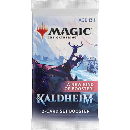 Wizards of the Coast MTG KMH Kaldheim Set Booster