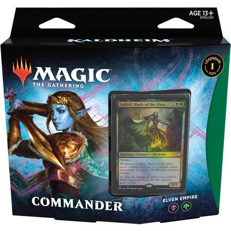 Wizards of the Coast MTG KHM Kaldheim Commander Deck: Elven Empire
