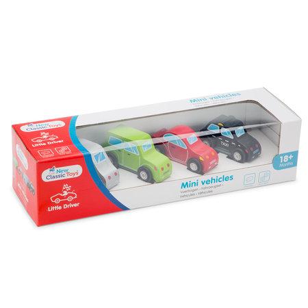 New Classic Toys Mini Car Set 4 st.