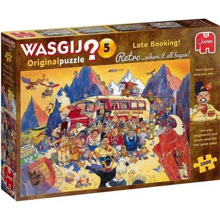 Jumbo Wasgij Retro Original 5: Last-minute Boeking  (1000)