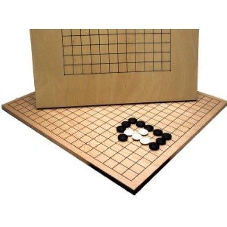 HOT games Go Bord Blank gelakt beuken hout fineer 44x42