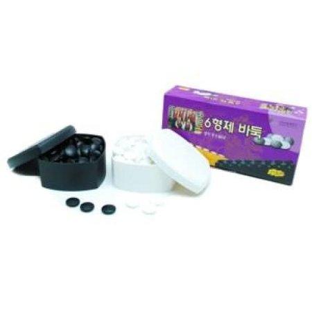 HOT games Go-stenenset glas zw/w 20-7mm 2x160