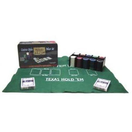 HOT games Poker Set Texas Hold'em Blik 200 Chips