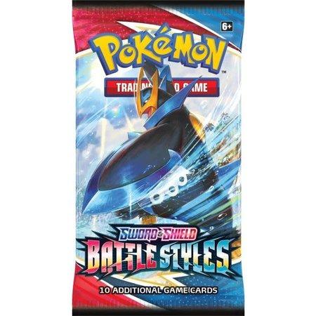 the pokemon company POK TCG Sword & Shield Battle Styles Booster