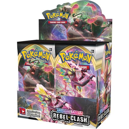 Pokemon Company POK TCG Sword & Shield Rebel Clash Booster