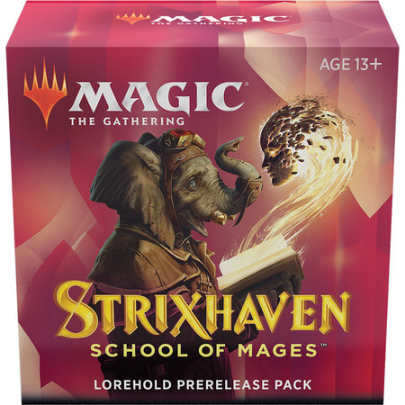 Wizards of the Coast MTG STX Strixhaven Pre Release Pack - Lorehold