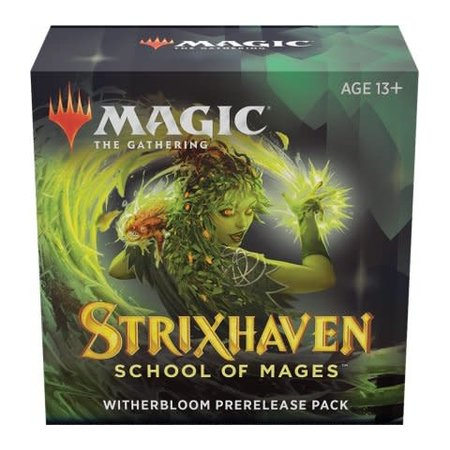 Wizards of the Coast MTG STX Strixhaven Pre Release Pack - Witherbloom