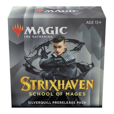Wizards of the Coast MTG STX Strixhaven Pre Release Pack - Silverquill