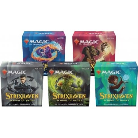 Wizards of the Coast MTG STX Strixhaven Pre Release - Full Colour Party Pack