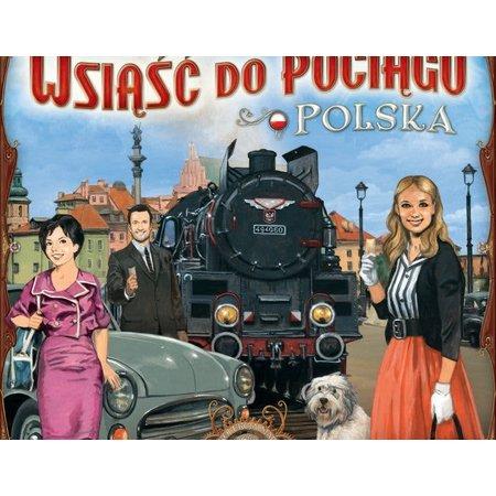 Days of Wonder Ticket to Ride Polska (Polen)