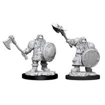 D&D Nolzur's Marvelous Miniatures Unpainted Miniatures Male Dwarf Fighter