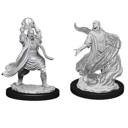 WizKids D&D Nolzur's Marvelous Miniatures Unpainted Miniatures Male Elf Sorcerer