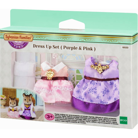 Epoch Sylvanian Families: Dress Up Set (Purple & Pink)