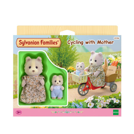 EPOCH Traumwiesen Sylvanian Families - Cycling With Mother