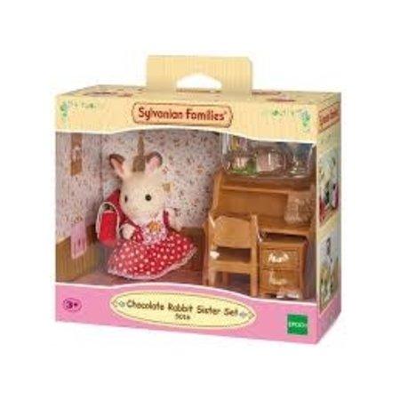 EPOCH Traumwiesen Sylvanian Families: Chocolate Rabbit Sister Set