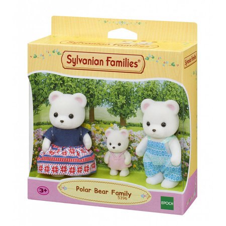EPOCH Traumwiesen Sylvanian Families: Polar Bear Family