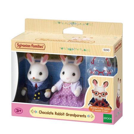 EPOCH Traumwiesen Sylvanian Families: Chocolade Rabbit Grandparents