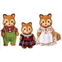 Sylvanian Families: Red Panda Family