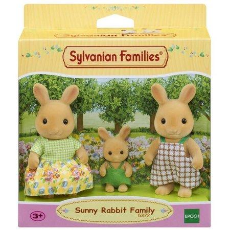 EPOCH Traumwiesen Sylvanian Families: Sunny Rabbit Family