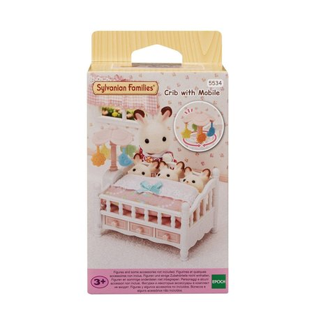 EPOCH Traumwiesen Sylvanian Families: Crib with Mobile
