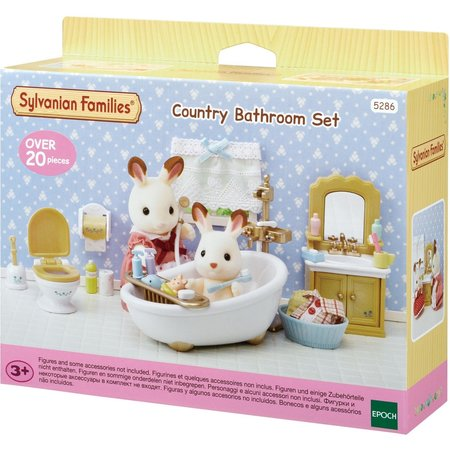 Epoch Sylvanian Families: Country Bathroom Set