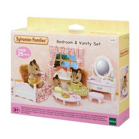 Epoch Sylvanian Families: Bedroom & Vanity Set