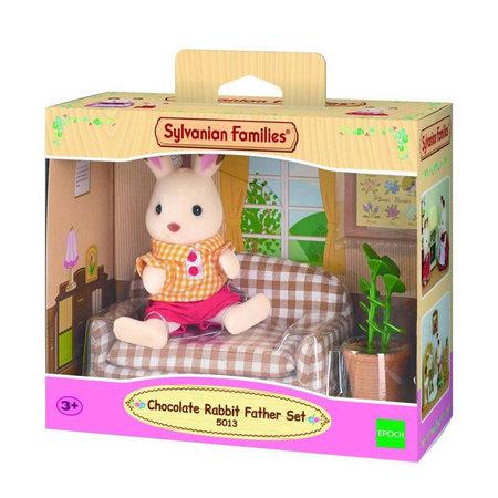 EPOCH Traumwiesen Sylvanian Families: Chocolate Rabbit Father Set