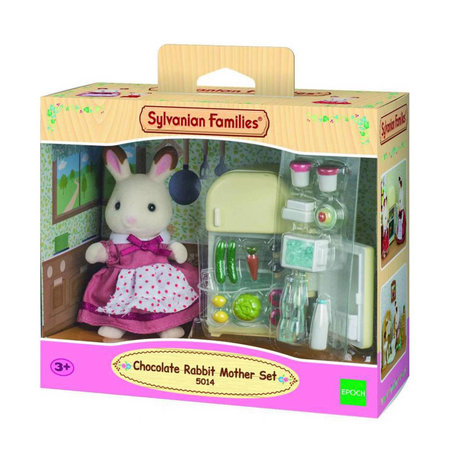 EPOCH Traumwiesen Sylvanian Families: Chocolate Rabbit Mother Set