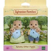 Sylvanian Families - Splashy Otter Family