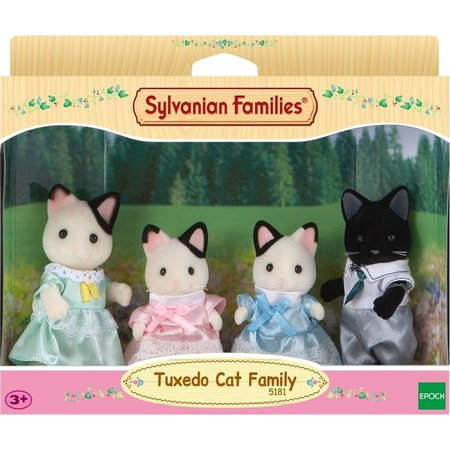 EPOCH Traumwiesen Sylvanian Families: Tuxedo Cat Family