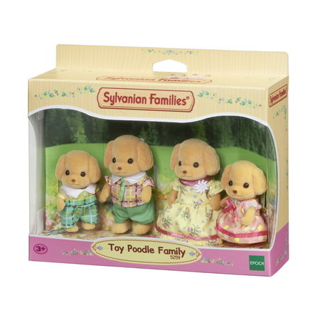 EPOCH Traumwiesen Sylvanian Families: Toy Poodle Family
